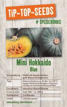 Saatgut Blauer Mini Hokkaido