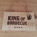 """Schild """"King of Barbecue"""""""