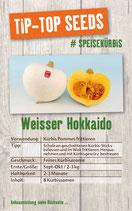 Saatgut Weisser Hokkaido