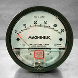 "Magnehelic ""Dwyer"" serie 2000, Rango 0-80 mmca"