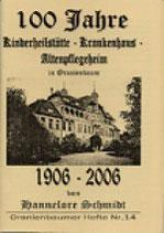 100 Jahre Kinderheilstätte-Krankenhaus-Altenpflegeheim