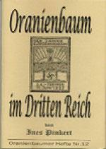 Oranienbaum in Dritten Reich
