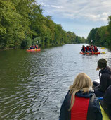Floßbau Schulklassen