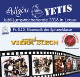 Eintrittskarte für VIERA BLECH am 05.10.2018 in Legau