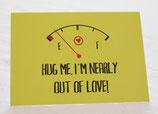 Postkarte, Hug me!