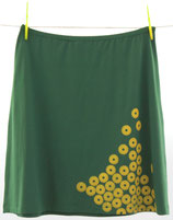 Skirt Lots of lonely Flowers - grün
