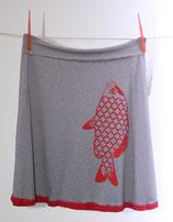 Skirt Fishy - blau/weiß