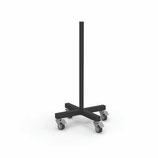 Soporte para discos de pesas vertical