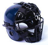 Casco con máscara de catcher