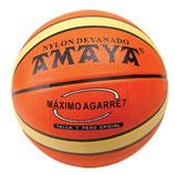 Pelota baloncesto nº 7 bicolor caucho