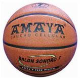 Balón Baloncesto SONORO CAUCHO CELULLAR PLUS
