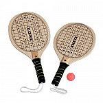 Set de 2 raquetas Madera