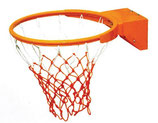 Aro de baloncesto basculante con muelles