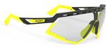 Rudy Project Defender Black Matt Yellow Fluo - ImpactX Photochromic 2 Laser Black