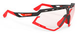 Rudy Project Defender Black Matte - ImpactX Photochromic 2Red