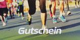 Gutschein für eine Laufstilanalyse oder Personal Training (Laufen oder Faszien)