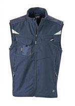 James & Nicholson | Workwear Sommer Softshell Gilet | JN 845