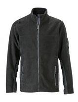 James & Nicholson | Herren Workwear Microfleece Jacke | JN 842