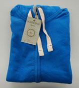 Kariban | KV2300 | Herren Vintage Kapuzen Sweatjacke / Gr. XL / vintage blue / Ausverkauf