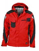 James & Nicholson | Workwear Winter Softshell Jacke | JN 824