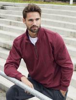 Clique | 021033 | BASIC HALF ZIP    Unisex Sweatshirt