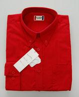 Cique / CARTER L/S / Hemd  / Gr. L / deep red / Ausverkauf