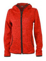 James & Nicholson | JN 588 | Damen Strick Fleece Kapuzen Jacke