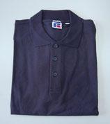 Russell  | 588M | Pima Cotton Piqué Polo / Gr. L / navy / Ausverkauf