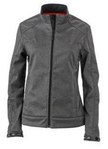 James & Nicholson | Damen Melange Softshell Jacke | JN 1087