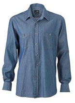 James & Nicholson | JN 629 | Denim Hemd