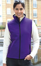 "Result | R232F | Damen ""Printable"" 2-Lagen Softshell Gilet"