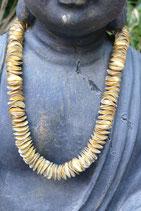 Halskette kurz Metall vergoldet