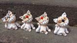 Grinse-Katze aus Ton