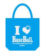 I Love Baseball トートバッグ