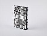 """Notizbuch Graphic L """"BAD BOOK"""" von Nuuna by Brandbook"""