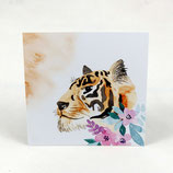 "Lesezucker Artprint ""Tiger"""