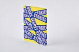 """Notizbuch Graphic L """"SECRET STORIES"""" von Nuuna by Brandbook"""