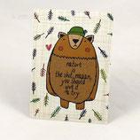 """Postkarte """"Nature"""" von tigapigs"""
