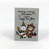 """Postkarte """"Weihnachten"""" von tigapigs"""