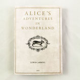 """Notizbuch """"Alice's Adventures in Wonderland"""" von Slow Design"""