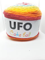 UFO Cakeball türkis/grün/gelb/orange/rot