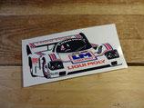 """Autocollant """"Porsche 956 Liqui Moly - Le Mans 1986"""""""