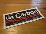 """Autocollant """"Original de Carbon"""" amortisseurs à gaz"""