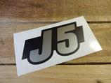 """Autocollants monogrammes """"J5"""", """"J9"""" et """"Diesel"""" Peugeot"""