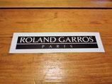 Autocollant de coffre Peugeot 205 Roland Garros