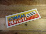 """Autocollant """"Formule Shell - Le nouveau supercarburant"""""""