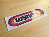 "Autocollant ""Wynn's"" taille 30cm"
