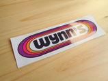 "Autocollant ""Wynn's"" taille 30cm"