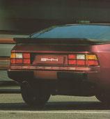 """Lettrage autocollant arrière """"PORSCHE"""" pour 924 et 944"""