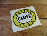 """Autocollant """"Cibié racing team"""""""